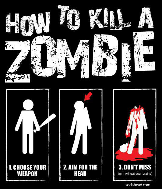 How to survive zomvie apocalypse class